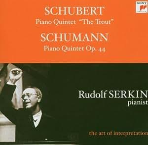 """Schubert : Quintette avec piano """"La Truite"""" & Schumann : Quintette avec piano opus 44"""