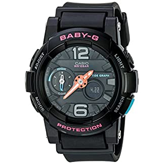 Casio Baby-G Analog-Digital Black Dial Women's Watch – BGA-180-1BDR (BX028)