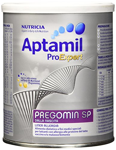 Aptamil Pregomin SP Latte Ipoallergenico per Bambini senza Lattosio in Polvere - 400 gr