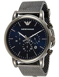 Emporio Armani Orologio Cronografo Quarzo Uomo con Cinturino in Acciaio Inossidabile AR1979