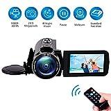 Videocamera Videocamere Full HD 1080P 30FPS per Visione Notturna Macchina...