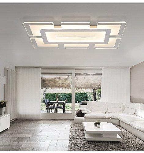 Su Zhou LED – Scheinwerfer Wohnzimmer einen modernen energieeinsparung zu Hause Dekoration oder Fernbedienung kreative persönlichkeit lampen,Durchmesser 62cm * 40cm warmes licht
