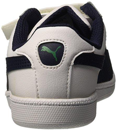 Puma Fun Smash L V PS Sneaker Mode Bianco/Peacoat