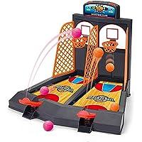 OurKosmos® dedo del doble del tiro de baloncesto de escritorio juguete educativo del juego entre padres e hijos interacción Juego Diversión y deportes