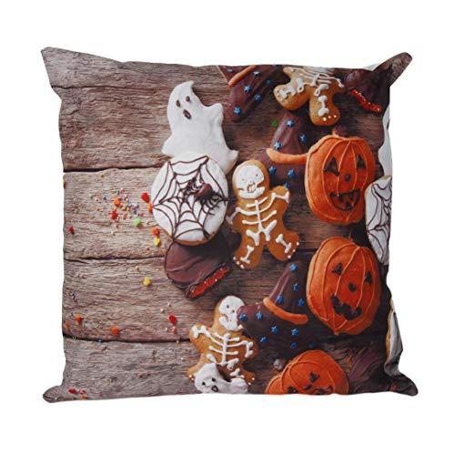 serliy Halloween Flauschige kissenbezüge spannbettlaken Hause sofakissenbezug günstige schöne Kissen IKEA Moderne kissenhüllen Plüsch Hohe Qualität Polsterung weich Baumwolle