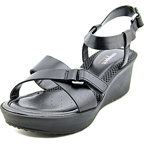 easy-spirit-casara-femmes-us-8-noir-large-sandales-compenss