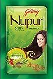 Godrej Nupur Mehendi Powder 9 Herbs Blend, 140-gram (3 PACK)