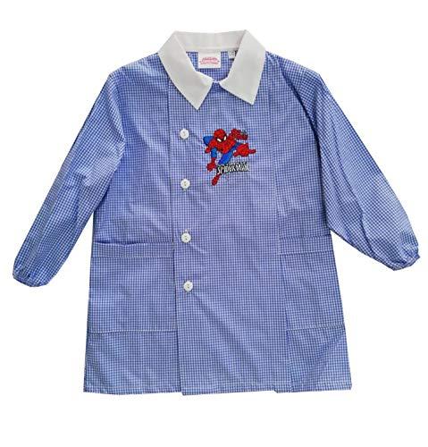Grembiule scuola materna; spiderman art.g034 originale marvel-alta qualita' (2 anni-92)
