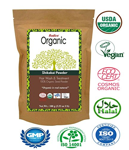 Radico Poudre Indienne Bio Shikakai 100g Vegan