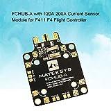 Lorenlli FCHUB-A PDB-Stromverteiler mit 120A 200A Stromsensormodul für F411 Mini F4 Flight Controller