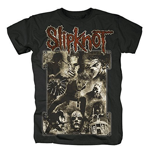 SLIPKNOT - SEPPIA LIVE - OFFICIAL MENS T SHIRT - Nero, Medium