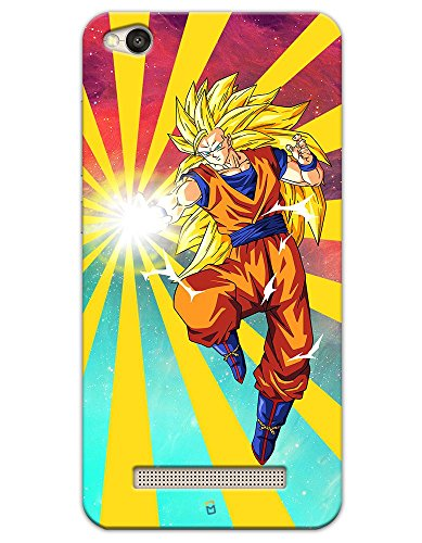 Xiaomi Redmi 4A Cases & Covers - Dragon Ball Z Goku Raging Blast Case by myPhoneMate - Designer Printed Hard Matte Case - Protects from Scratch and Bumps & Drops.  available at amazon for Rs.459
