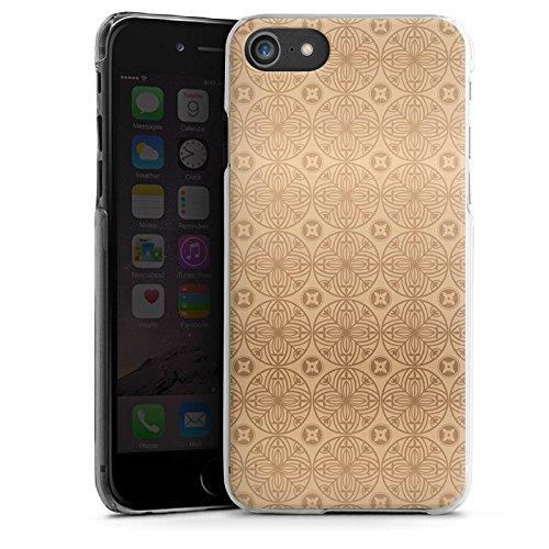 Apple iPhone X Silikon Hülle Case Schutzhülle Blume Flower Muster Hard Case transparent