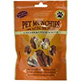 Pet Munchies Chicken Wrapped Calcium Bones 100 g, Pack of 8