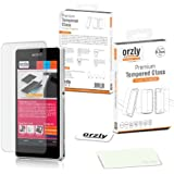 Orzly® - Premium Tempered Glass 0.3mm Protective Screen Protector For SONY XPERIA Z1 MINI / XPERIA ZI COMPACT - D5503 Model SmartPhone 2014