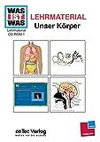 Was ist was, Lehrmaterial, Bd.1 : Unser Körper, 1 CD-ROM Jahrgangsstufen 4-9. Einzelplatzlizenz. Ab Windows 9.x