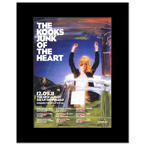 KOOKS - Junk of the Heart Matted Mini Poster - 28.5x21cm