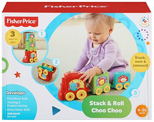 Fisher Price Stack and Rock Cocodrilo juguete