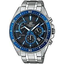 Casio Reloj Analogico para Hombre de Cuarzo con Correa en Acero Inoxidable EFR-552D-