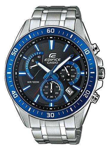 0aaee4c3db35 Casio Reloj Analogico para Hombre de Cuarzo con Correa en Acero Inoxidable  EFR-552D-