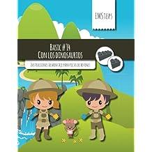 EMSteps #14 Con los dinosaurios: Instrucciones de montaje para piezas de botones: Volume 14 (EMSteps Basic)
