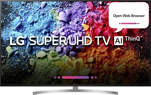 LG 190.5 cm (75 inches) 75SK8000PTA 4K Super UHD LED Smart TV (Black)