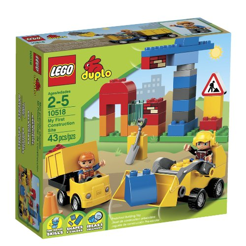 LEGO DUPLO My First Construction Site 10518 by LEGO