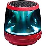 LG PH1 - Altavoz portátil (Bluetooth, sonido 360, micrófono, microUSB) color rojo