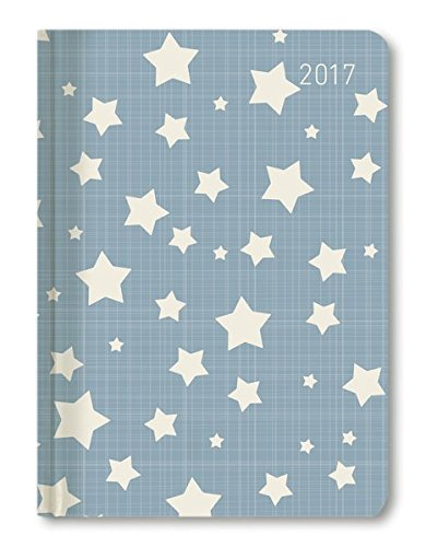 Ladytimer Stars 2017 - Taschenplaner / Taschenkalender A6 - Weekly - 192 Seiten