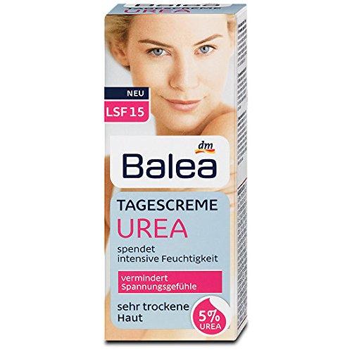 Balea Tagescreme Urea für sehr trockene Haut, 2er Pack(2 x 50 ml)