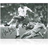 Glenn Hoddle Firmado Tottenham Hotspur Foto: Wembley Replay