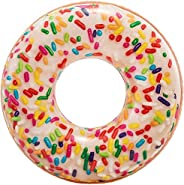 Intex Rainbow Sprinkle Donut Tube, Multi-Colour, 56263