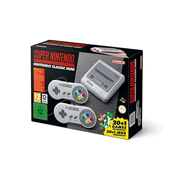 Nintendo Classic Mini Console: Super Nintendo Entertainment System 51TaufgvgDL