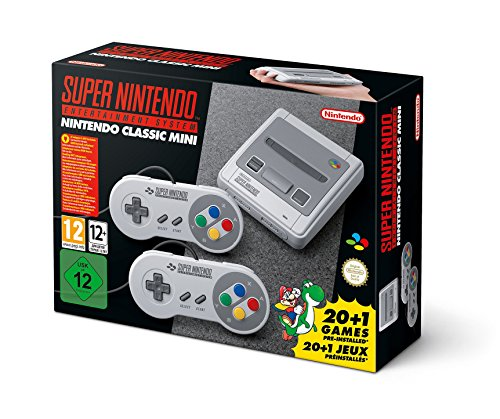 Nintendo Classic Mini: Super Nintendo Entertainment System (Super Konsole Nur Die Nintendo)