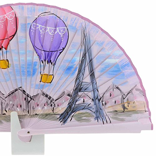 design della ventola Paris Rosa