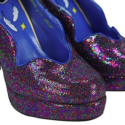 Tuk Tuk. Chaussures À Talon Haut Multicolore Sky Hi Multicolore