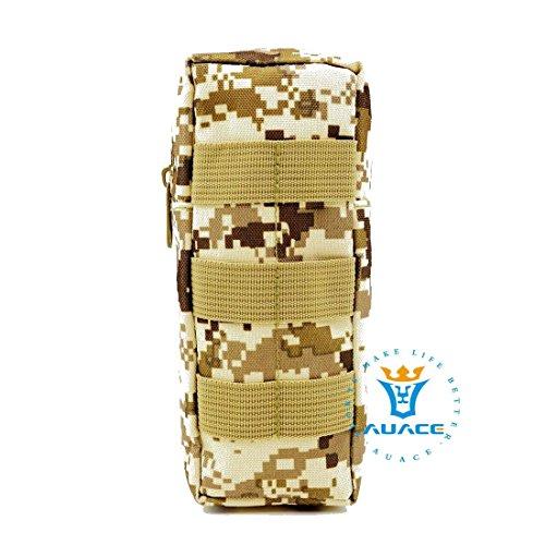 Multifunzione sopravvivenza Gear tattico Sacca Molle Pouch bottiglia pacchetto, campeggio portatile Borse da viaggio Borse Strumento Borsa marsupio per Pouch, MC DDC