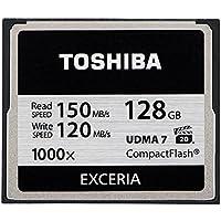 Toshiba Exceria CompactFlash 128GB (bis zu 150MB/s lesen) Speicherkarte schwarz