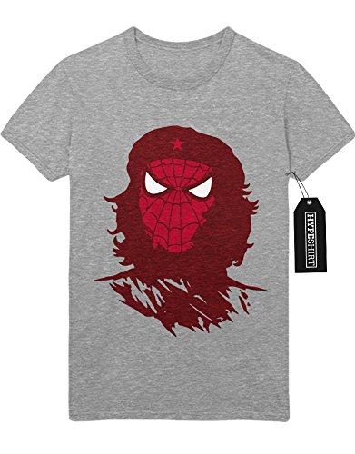 """T-Shirt """"SPIDER GUEVARA"""" H23169 Grau"""