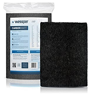 ✧WESSPER® Cooker hood Filter for Mastercook ALFA 60 (Filter Mat, carbon)