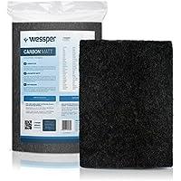 ✧WESSPER® Campana extractora filtro para Akpo WK8 (Estera filtrante, carbón)
