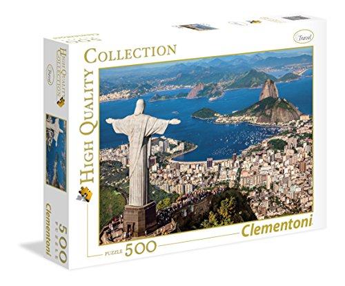 Clementoni 35032 - Puzzle 500 HQC Rio De Janeiro