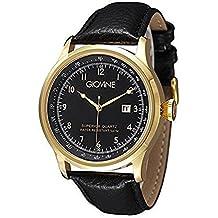 Reloj cuarzo para hombre Giovine Casanova Tempo OGI004/T/L/YG/NR/NR