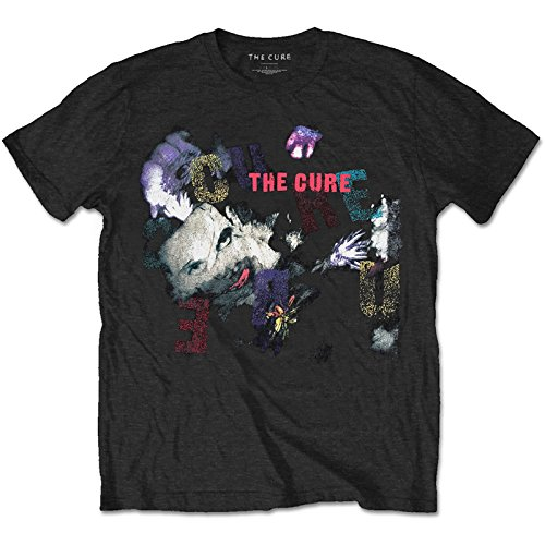 The Cure The Prayer 1989 Tour OFFICIAL Rock Punk Vintage T-shirt up to XXL - Large (Rock Punk Tee T-shirt)