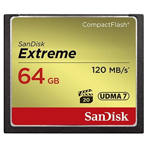 SanDisk Extreme CompactFlash-Karte (Renewed) 64 GB