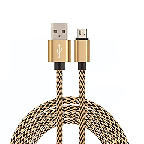 ULTRICS® Micro USB Cable [6ft - 2M] - Fastest, Most
