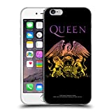 Head Case Designs Officiel Queen Crête De Logo Bohemian Rhapsody Coque en Gel Doux Compatible avec iPhone 6 / iPhone 6s