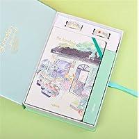 Preisvergleich für Tery Geschenk Sparschwein Idee für Mädchen Cute Geschenk Boxed Kinder Notebook & Briefpapier Geschenk-Set (Florist)