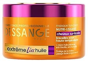 Dessange - Masque Fondant Nourissant Lissant Anti-frisottis Extrême Liss Huile - 250 ml