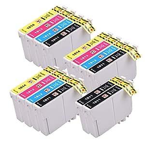14 compatibles Epson Daisy 18 XL cartouches d'encre pour la série Epson Expression XP102 XP202 XP205 XP30 XP302 XP305 XP402 XP405 Imprimantes, 3x T1816 + 2 Noir, y compris 5x T1811 Noir, 3x T1812 Cyan, 3x T1813 Magenta, 3x T1814 jaune